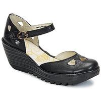 kengät Naiset Korkokengät Fly London YUNA Black