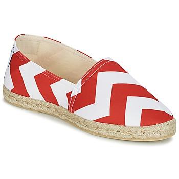 kengät Naiset Espadrillot Maiett NOUVELLE VAGUE Red / White