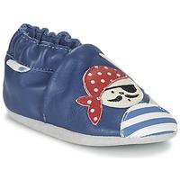 kengät Pojat Vauvan tossut Robeez JOLLY PEG Blue