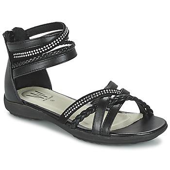 kengät Tytöt Sandaalit ja avokkaat Wildflower GRIMSTAD Black