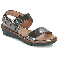 kengät Naiset Sandaalit ja avokkaat Wonders LAMETOP Grey / Argenté