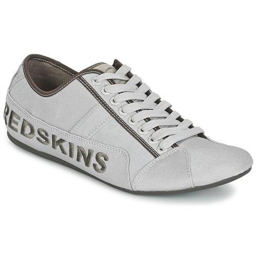 kengät Miehet Matalavartiset tennarit Redskins TEMPO Grey