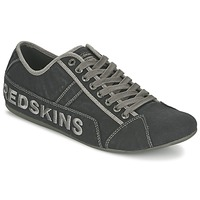 kengät Miehet Matalavartiset tennarit Redskins TEMPO Black