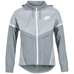 vaatteet Naiset Tuulitakit Nike TECH WINDRUNNER Grey
