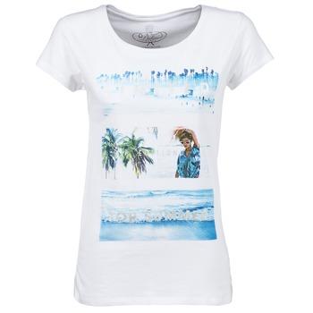 vaatteet Naiset Lyhythihainen t-paita Deeluxe TRYP GIRL White