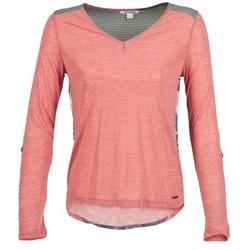 vaatteet Naiset T-paidat pitkillä hihoilla Smash TIRAMISU Pink