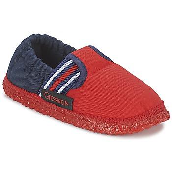 kengät Pojat Tossut Giesswein AICHACH Red / Laivastonsininen