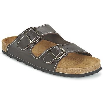 kengät Miehet Sandaalit Casual Attitude TERTROBAL Brown