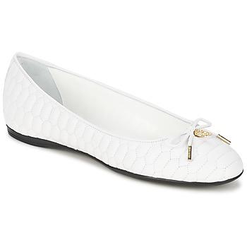 kengät Naiset Balleriinat Roberto Cavalli XPS151-PN119 White