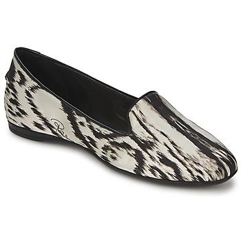 kengät Naiset Balleriinat Roberto Cavalli XPS280-FLA35 BEIGE / Black
