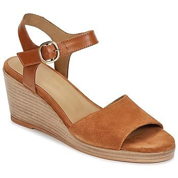 kengät Naiset Sandaalit ja avokkaat n.d.c. LAS SALINAS Cognac