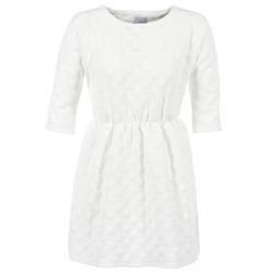 vaatteet Naiset Lyhyt mekko Compania Fantastica FRENE White