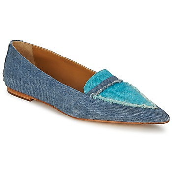 kengät Naiset Balleriinat Castaner KATY Blue / Farkku