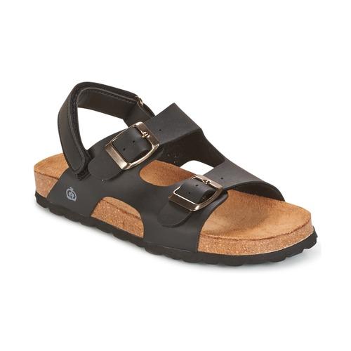 kengät Pojat Sandaalit ja avokkaat Citrouille et Compagnie BALDODE Black / Matt