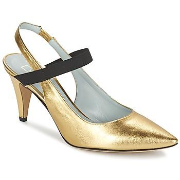 kengät Naiset Korkokengät Marc Jacobs VALERY Kulta