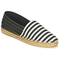 kengät Naiset Espadrillot Marc Jacobs SIENNA Black / White