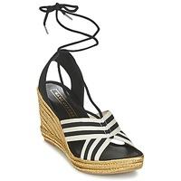 kengät Naiset Sandaalit ja avokkaat Marc Jacobs DANI Musta / Valkoinen