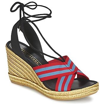 kengät Naiset Sandaalit ja avokkaat Marc Jacobs DANI Sininen / Punainen