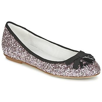 kengät Naiset Balleriinat Café Noir BOLERA Glitter / Musta