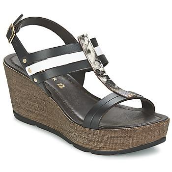 kengät Naiset Sandaalit ja avokkaat Café Noir LAPIBO Black