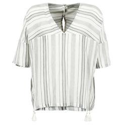 vaatteet Naiset Topit / Puserot Stella Forest OWONI Ecru / Grey