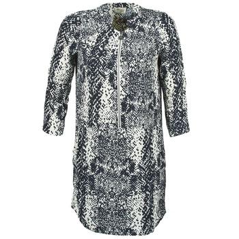 vaatteet Naiset Lyhyt mekko Stella Forest EDERI Laivastonsininen / White