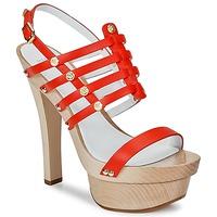 kengät Naiset Sandaalit ja avokkaat Versace DSL943T Red