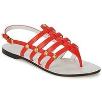 kengät Naiset Sandaalit ja avokkaat Versace DSL944C Corail