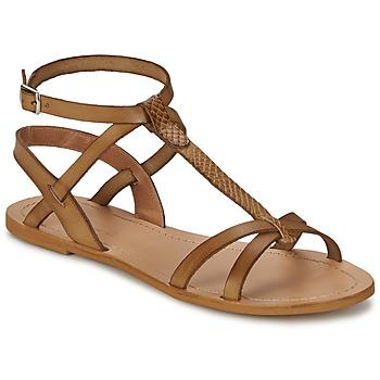 kengät Naiset Sandaalit ja avokkaat So Size BEALO Brown