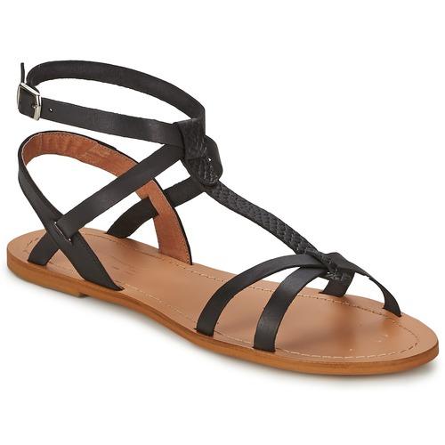 kengät Naiset Sandaalit ja avokkaat So Size BEALO Black