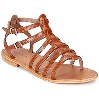 kengät Naiset Sandaalit ja avokkaat Les Tropéziennes par M Belarbi HIC Brown