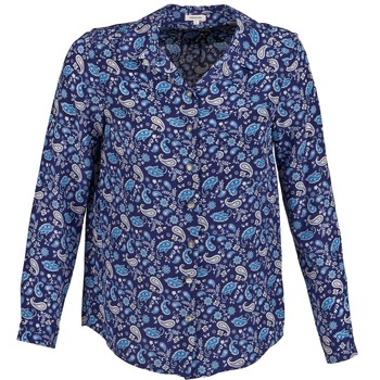 vaatteet Naiset Paitapusero / Kauluspaita Manoush BANDANA SILK Blue