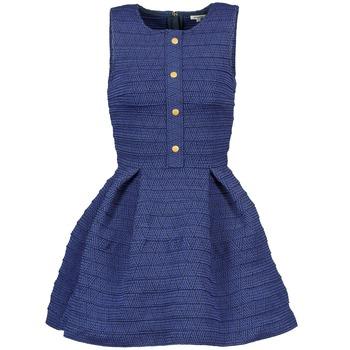 vaatteet Naiset Lyhyt mekko Manoush ELASTIC Blue