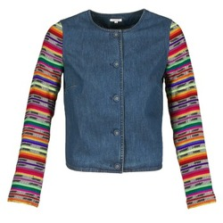 vaatteet Naiset Takit / Bleiserit Manoush INDIAN DENIM Sininen