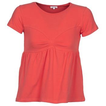 vaatteet Naiset Lyhythihainen t-paita Manoush MOLLETON Corail