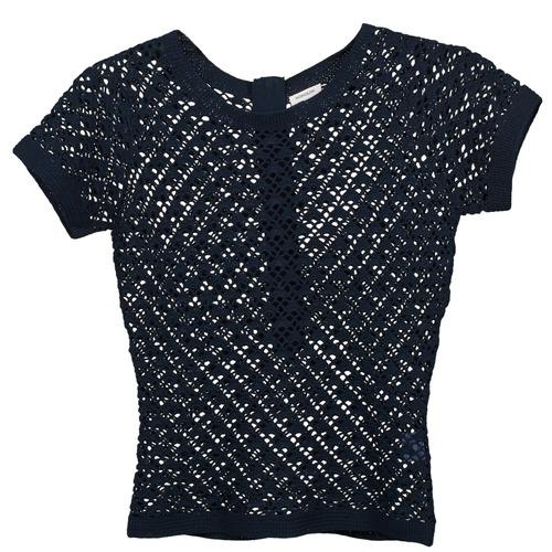 vaatteet Naiset Neulepusero Manoush NANY Blue