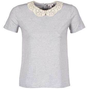 vaatteet Naiset Lyhythihainen t-paita Manoush T-SHIRT Grey
