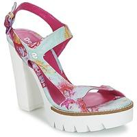kengät Naiset Sandaalit ja avokkaat Desigual VENICE Turkoosi / Pink