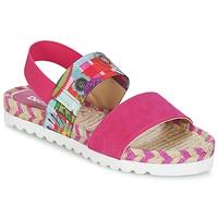 kengät Naiset Sandaalit ja avokkaat Desigual FORMENTERA Pink