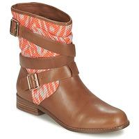 kengät Naiset Bootsit Mellow Yellow VABELO Ruskea / Oranssi