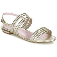 kengät Naiset Sandaalit ja avokkaat Mellow Yellow VEO Kulta