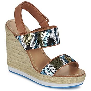 kengät Naiset Sandaalit ja avokkaat Mellow Yellow VABLISS Blue