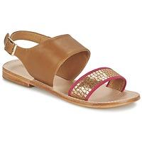 kengät Naiset Sandaalit ja avokkaat Mellow Yellow VADELI Camel