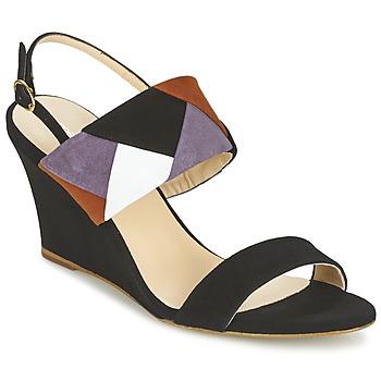 kengät Naiset Sandaalit ja avokkaat Mellow Yellow VEPALE Black