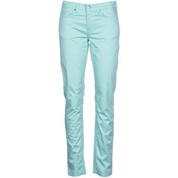 vaatteet Naiset 5-taskuiset housut Gant 410478 Grey