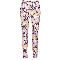 vaatteet Naiset 5-taskuiset housut Gant 414705 Pink / Blue