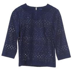 vaatteet Naiset Topit / Puserot Gant 431951 Blue
