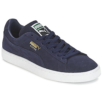 kengät Matalavartiset tennarit Puma SUEDE CLASSIC + Laivastonsininen
