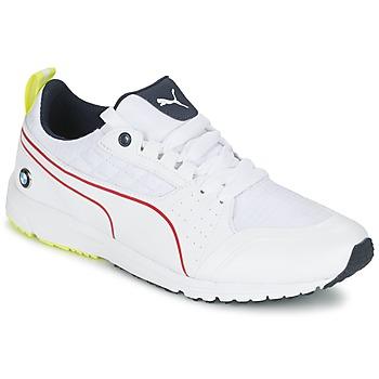 kengät Miehet Matalavartiset tennarit Puma BMW MS PITLANE White / Yellow