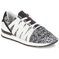 kengät Naiset Matalavartiset tennarit Serafini MIAMI Black / White